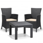 Allibert Rosario 2 Seat Balcony Set